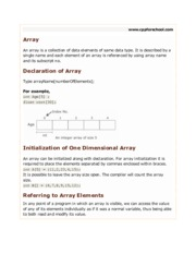 chapter12-array-single-dimension