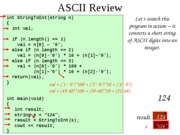 ascii review