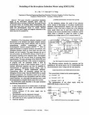 Modelling of the three-phase Induction Motor using SIMULINK.pdf