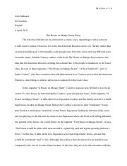 house on mango street essay.docx