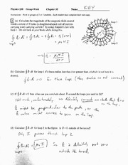 Chapter 30 Group Work 6 Solution