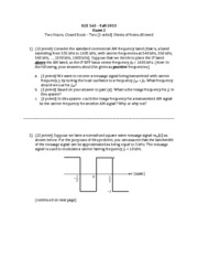 ECE 563 Exam 2 with Solutions