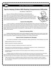 136_Reading_Comprehension_Difficulties