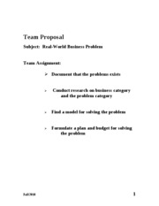 Team Proposal Overheads BB