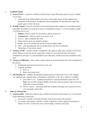 Property II Review Outline_mpm