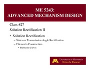 Lecture 28 on Advanced Mechanism Design