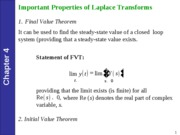 KING FAHD UNIVERSITY CHEMICAL ENGINEERING COURSE NOTES (Process Control)-Lec11
