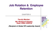 Job rotation and retention  8