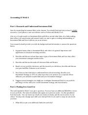 Accounting 2 discussion 6