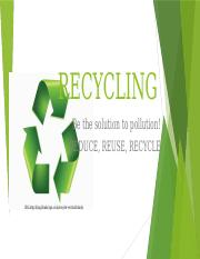 Conservation Effort - Recycling.pptx