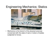 Statics Course Notes 010614