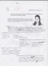 la tarea mercedes worksheet