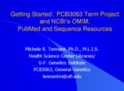 PubMed Session I