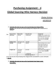 aac7648a6438625436177fb8f5a0f19a99a32579_180 per unit 1200 x 35000 072 custom duty 5 of unit cost per unit 005 global sourcing wire harness decision case study at nearapp.co
