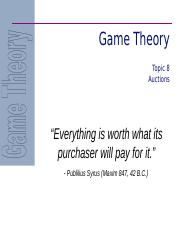 8 - Auctions.ppt