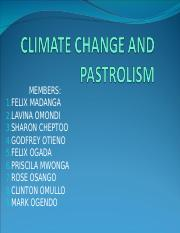CLIMATE CHANGE AND PASTROLISM.ppt