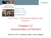 CRIJ 2313 - Chapter 12 - Fall 2011