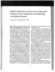 Medicine of the Brave Reading