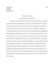 weekly paper #3 Eng 346