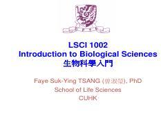 LSCI 1002_Lecture note_Signal Transduction, Response.pdf