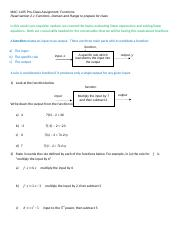 1105 Pre-Class Assignment Week 1 (Functions) (1).docx