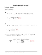 ENGG 201 (Fall 2013) - Practice Problem from Chapter 6 - Solutions