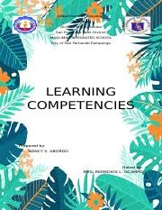 Learning Competencies.docx