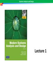 LECTURE 1 IS ANALYSIS  DESIGN.pptx