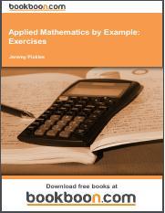 Applied Mathematics by Example_ Exercises.pdf