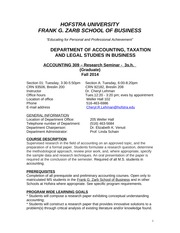 Accounting309SyllabusFall2014Aug8withDetails