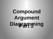 Compound Argument Diagramming Practice (Part 2)