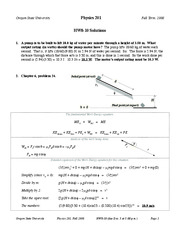 PHYSICS Hw solution 8-10