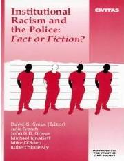 Green (Ed.) - Institutional Racism and the Police;  Fact or Fiction (2000).pdf