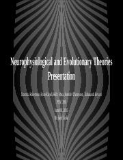 Neurophysiological and Evolutionary Theories Presentation (1)