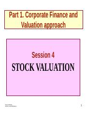 FM-sees 4-Stock Valuation