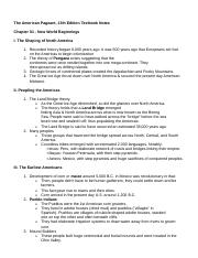 The American Pageant book outline notes 257 pgs