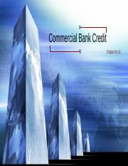 Commercial Bank Credit