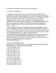 CIS 312 Practice Problems and 9.3 Practice Problems Q 30.doc