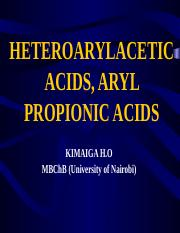 57. HETEROARYLACETIC ACIDS, ARYL PROPIONIC ACIDS.pptx