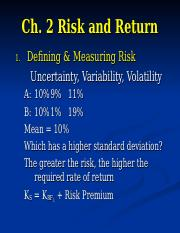 Ch2-Risk+and+Return (1).ppt
