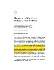 Peters - Chapter 4 - Phantasms of the Living