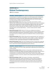 GLOBAL CONTEMPORARY