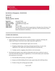 Syllabus MGMT 29 620 301 60 Intro Management Settles Spring 2017 night(1)