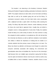 Take a Walk Essay
