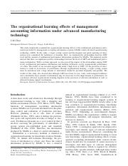 The organisational learning effects of management.pdf