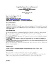 Hospitality_Human_Resource_Management_Syllabus_Fall_2010