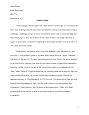 french study resources 5 pages french research paper