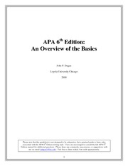 apa template with advice 6th ed Apa style jars tools last week apa launched a  of the american psychological association ® (6th  about apa style as well as general writing advice,.