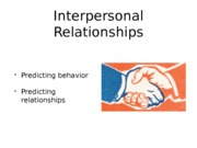 explain how dispositional theories influence interpersonal relationships Psy 405 week 5 explain in 250 300 words how learning theories influence interpersonal relationships.