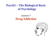 Lecture 7-Drugs of abuse